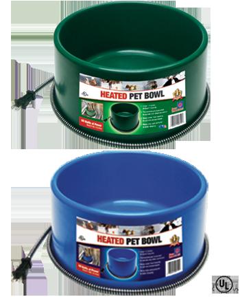 60-Watt Farm Innovators Model D-19 1-1//4-Gallon Heated Water Bowl for Chickens